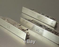 12 Doors Animal Figurative Knives In Bronze Silver Signs Gr 1930