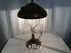 1900 Art Deco Lamp Art Nouveau Bronze And Brass