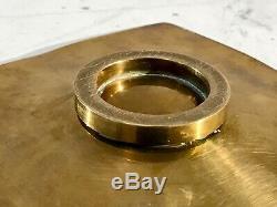 1970 Cup Tidy Bronze Art-deco Modernist Shabby-chic