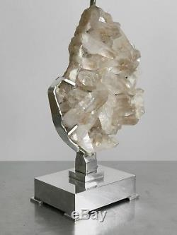 1970 Willy Daro Lamp Sculpture Art-deco Modernist Brutalist Shabby-chic