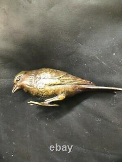 4 Bronzes Birds Of Max The Verrier Art Deco 1930