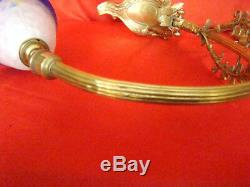 Adjustable Bronze Desk Lamp Art-déco Period