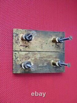 Anciennes Golden Bronze Door Handles. Art Deco Maurice Jallot