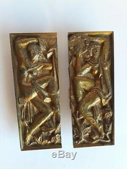 Art Déco Bronze Handles Maurice Jallot