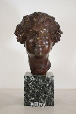 Bronze Art Deco By Etienne Forestier