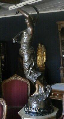 Bronze Art Deco By Henry Fugère
