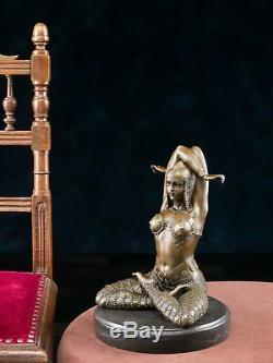 Bronze Art Deco Dancer Statuette