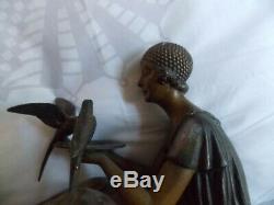 Bronze Art Deco Signed Chiparus