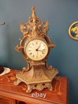 Bronze Louis XV Cartel Pendule Height 440mm