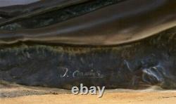 Bronze Nude Art-deco Signed Joseph Cormier 1869-1950 Susse Lost Wax Cast