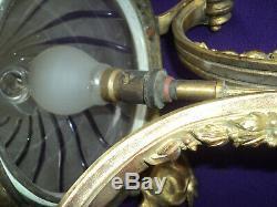 Chandelier Mount Bronze Hanging Ceiling Lamp Art Deco New Lamp