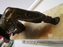 Chiparus Flat Statue Chryselephantine Bronze Ivory Art Deco Dancer Kamorna