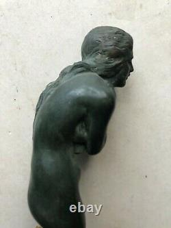 Countertop Lighter Cafe The Chilly Max Le Verrier Bronze Art Deco