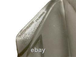 Degué (1892-1950) Pair Dappliques Arrow Art Deco Moulded Glass - Bronze Nickeled