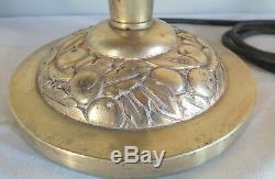 Foot Lamp Bronze Art Nouveau Art Deco Leleu