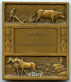 France Médaille By Morlon Art Déco Offered By Le Progrès Du Béarn