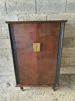 Gold Bronze Door Door Poignees. Art Deco Maurice Jallot