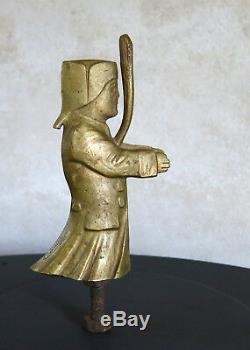 Guignol, Bronze Radiator Cap, Mascot, Granger, Art Deco