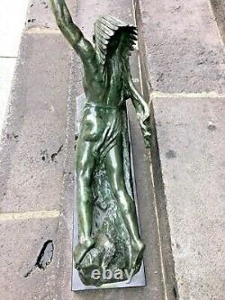 Important Bronze By Marcel André Bouraine (1886-1948)