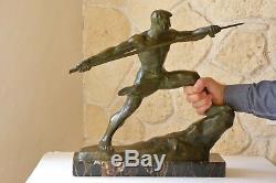 Javelin Thrower Bronze G. Gori, Marcel Guillemard 1 1930 782 Ref