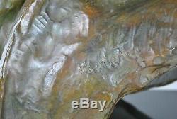 Kelety De Jean Mermoz Bust Bronze, Signed, Art Deco, 20th Century