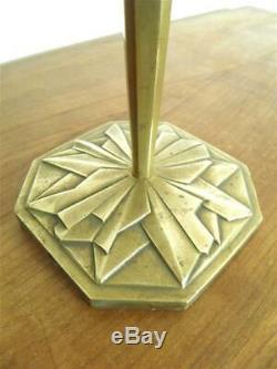 Lamp Foot Art Deco Degué Muller Noverdy Schneider (219)