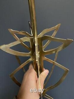 Lamp Foot Design Art Deco Modernist Bronze Lamp House Charles Rings 1950