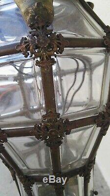 Lantern New Art, Bronze And Crystal Model Versailles