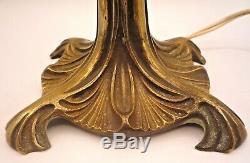 Maurice Dufrene Lamp Art Nouveau Bronze Follot, Leleu, Art Deco, Daum