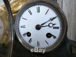 Old Clock Bronze To Restore