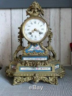 Old Clock In Bronze