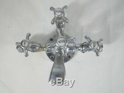 Old Faucet Shower Bath Vintage Art Deco