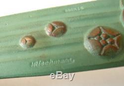Opener + Ashtray Bronze Signed Rischmann 1930 Fog Frog Art Deco