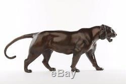 Panther Bronze Art Deco