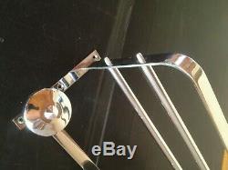 Peg Coat Rack Brass / Bronze Chrome Modernist Art Deco Period 1930-1940