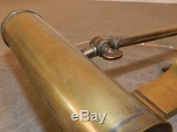 Piano Lamp, Or Reading In Bronze And Brass Art Deco Period, Circa 1930