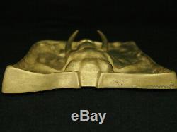 Plate Bronze Animal Art Elephant Copy. Ld. Counter French Art