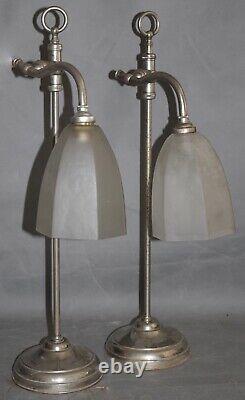 Rare Light Pair Vintage 1930