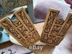 Rare Ornamental Ornaments Bronze Art Deco Decoration (accessory Curtains) No.2