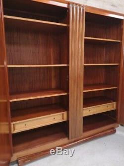 Rosewood Wardrobe Cabinet Wardrobe Art Deco 1930 Maurice Rinck Old Maxim