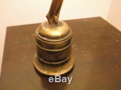 Sculpture Art Deco Automotive Mascot, Bronze, Height 22 CM Set On Plinth