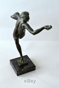 Statue Art Deco Fairal Max Le Verrier