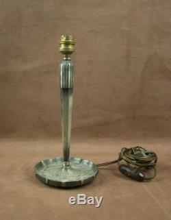 Superb Lamp Leg Bronze Bronze Period Art Deco 1930