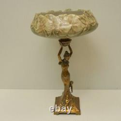 Table Centre Dancer Style Art Deco Style Art Nouveau Porcelaine Bronze