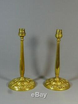 To Have! Pair Beautiful Feet Lamp Time Art Deco Bronze, Dlg Sue & Mare