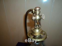 Tulip Bronze Lamp Base Daum Muller Galle Art Deco / New Glass Pate