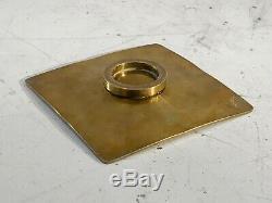 1970 Coupe Vide-poche Bronze Art-deco Moderniste Shabby-chic