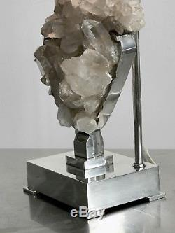 1970 Willy Daro Lampe Sculpture Art-deco Moderniste Brutalist Shabby-chic