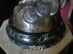Bronze Art déco par Henry Fugère