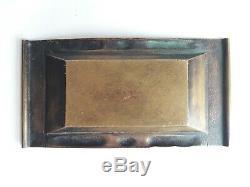 Cendrier bronze art déco Ruhlmann Leleu